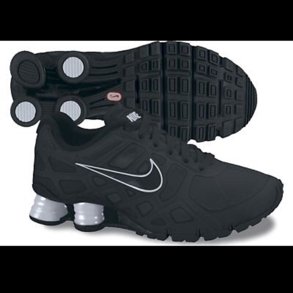 Nike Shox Turbo 12 Women s Size 8.5 Black 581c3cfe7